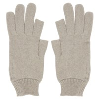 Rick Owens Off White Texting Gloves