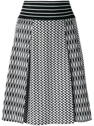 Missoni Knitted A Line Skirt Black