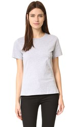 Thierry Mugler T Shirt With Hardware Heather Grey
