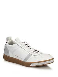 Rag And Bone Flynn Leather Suede Sneakers White
