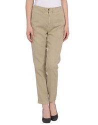 Get Lost Casual Pants Beige