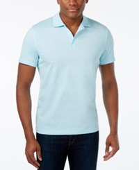 Alfani Men's Chambray Polo Only At Macy's