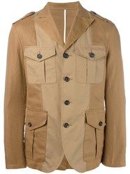 Dsquared2 Deconstructed Blazer Brown