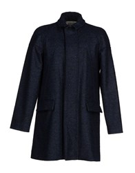 Gran Sasso Coats And Jackets Coats Men Dark Blue