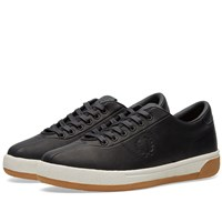 Fred Perry X Green Soccer Journal Exhibition Tennis 1 Sneaker Black