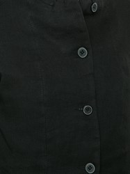 A Diciannoveventitre High Neck Fitted Jacket Black