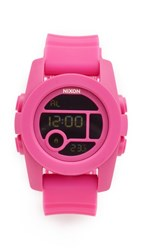 Nixon The Unit 40 Watch Magenta