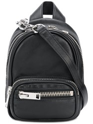 Alexander Wang Mini Backpack Calf Leather Leather Black