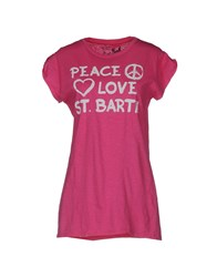 Mc2 Saint Barth T Shirts Fuchsia