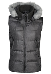 Opus Hanny Waistcoat Carbon Anthracite