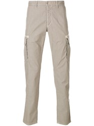 Jeckerson Classic Fitted Chinos Nude And Neutrals