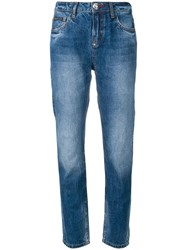 Philipp Plein Slim Fit Jeans Blue