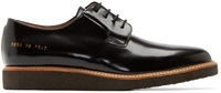 Common Projects Black Patent Leather Shine Derbys