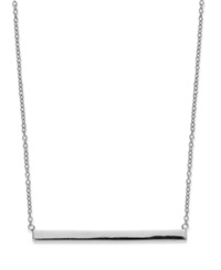 Studio Silver Sterling Silver Necklace Bar Necklace No Color