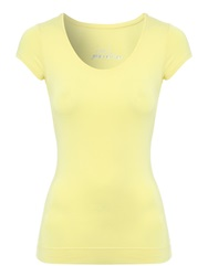Jane Norman Deep Hem T Shirt Yellow