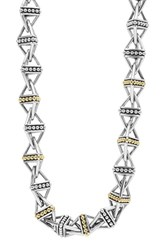 Lagos Women's Ksl Pyramid Link Chain Necklace
