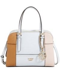 Guess Huntley Small Cali Satchel Cameo Multi