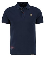 Blauer Polo Shirt Navy Dark Blue