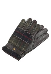 Barbour Newbrough Gloves Classic Green