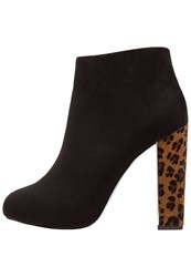 Versace Jeans High Heeled Ankle Boots Nero Naturale Black