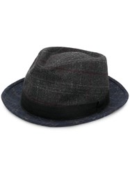 Paul Smith Ps By Wide Brim Hat Blue
