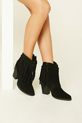 Forever 21 Volatile Knotted Fringe Boots
