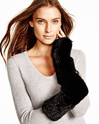 Maximilian Knitted Mink Fingerless Gloves
