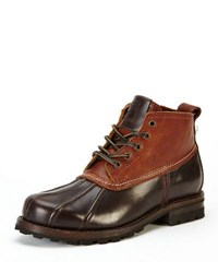 Frye Warren Low Top Duck Boot Brown