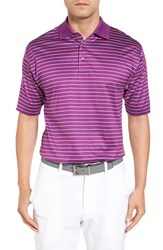 Bobby Jones Men's Boardwalk Stripe Golf Polo Bora Bora