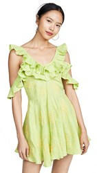 All Things Mochi Nadine Dress Green
