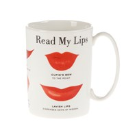 Kate Spade Read My Lips Mug