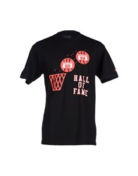Hall Of Fame T Shirts Black