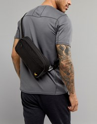 Lyle And Scott Fitness Sports Bum Bag In Black True Black