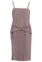 Second Female Lira Cocktail Dress Party Dress Marble Grey Rose