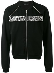 Alexander Mcqueen Zip Up Cardigan Men Cotton Polyester Viscose M Black