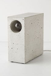Anthropologie Beton Concrete Desk Lamp Assorted