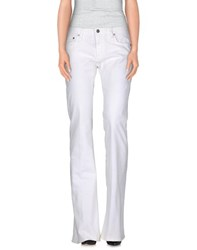 Roberto Cavalli Denim Denim Trousers Women White