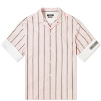 Calvin Klein 205W39nyc Faded Stripe Vacation Shirt Pink