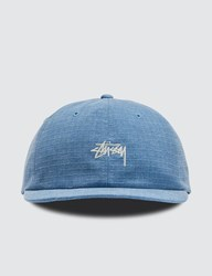 Stussy Washed Ripstop Low Pro Cap Blue
