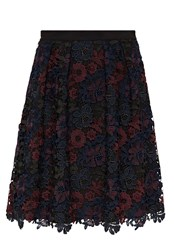 Hallhuber Multi Colour Lace Skirt Multi Coloured