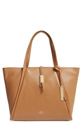 Vince Camuto Reed Small Leather Tote Brown Mocha