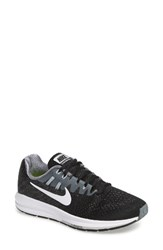 Nike Women's Air Zoom Structure 20 Running Shoe Black Cool Grey White