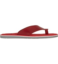 Kurt Geiger Konan Leather Sandals Red