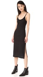Blk Dnm Dress 5 Rib Tank Dress Black