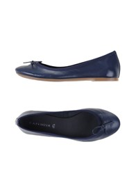 Cafe'noir Cafenoir Footwear Ballet Flats Women Dark Blue