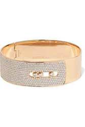 Messika Move Noa 18 Karat Gold Diamond Bangle