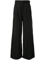 Alice Mccall Favour Wide Leg Trousers Black