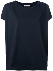Stefano Mortari Loose Fit T Shirt Blue