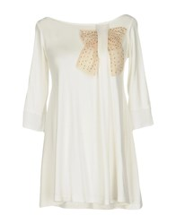 Scee By Twin Set T Shirts Ivory