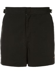 The Upside Logo Running Shorts Black